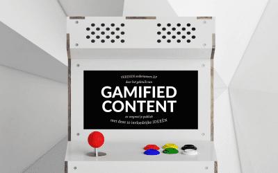 Gamify jouw content